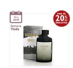 Natura - bem estar bem.Desodorante colônia Kaiak Urbe 100ml. Por R$ 79,90