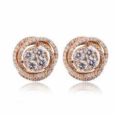 #CORIOLAN #Jewellery  Cercei din aur cu diamante C482