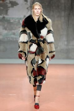 The Best Fur Coats for Fall 2014 - Marni fall 2014