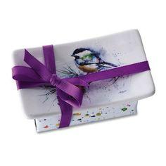 Demdaco Dean Crouser Chickadee Soap Dish Gift Set - Mirranme