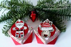 Diamantbox Ausgestochen Weihnachtlich Stampin Up