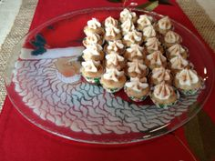 Eggnog Cupcakes | Suitcases and Sweets