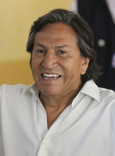"FILE -- In this April 10, 2011 file photo, then presidential candidate Alejandro Toledo smiles after voting in the general elections, in Lima, Peru. Israeli authorities say that they will not permit Peru's fugitive former president to enter the country if he attempts to do so. In a statement, Israel's Foreign Ministry said Sunday, Feb. 12, 2017,  that Alejandro Toledo will be allowed into Israel once ""once his affairs in Peru are settled."" Toledo, who is accused of taking so..."
