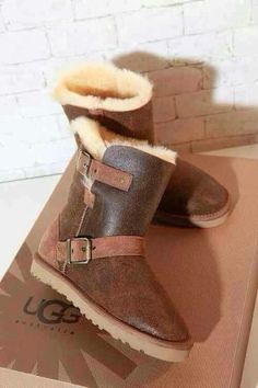 Different look to the UGG boots