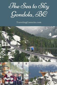 Winter fun at Sea to Sky Gondola in Squamish, British Columbia Vancouver Winter, Columbia Outdoor, Visit Canada, Roadside Attractions, Vancouver Island, Winter Fun, Canada Travel, British Columbia, Outdoor Activities