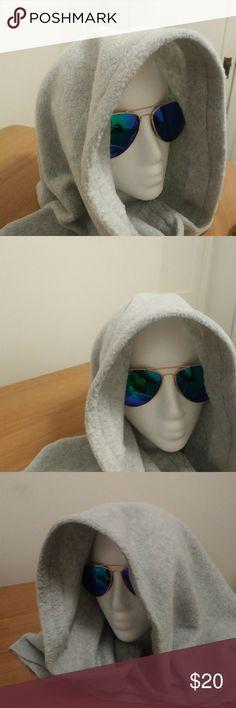 Hooded Lizard hood original. Lt blue over sized mid evil Hooded Lizard Accessories Hats