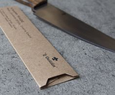 Custom Knife Packaging for Knapp Made from Guided - Really cool project we are partnering on. #CustomPackaging