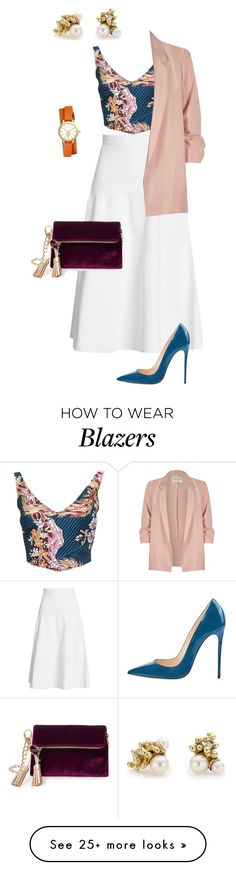 """""""Untitled #715"""" by jeauhall on Polyvore featuring Victoria Beckham, Vivienne Westwood, Steve Madden, River Island, Ruth Tomlinson and Tory Burch"""