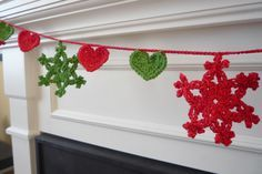 Crochet, Guirnalda de Navidad
