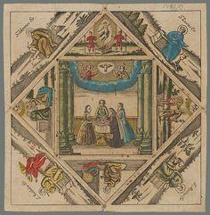 Stredoeurópsky grafik z 18. storočia – Pamiatka na krst | Web umenia Vintage World Maps