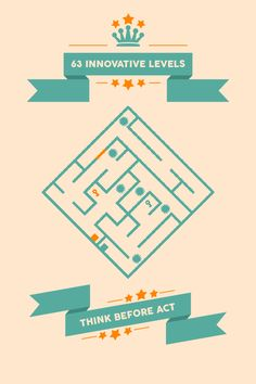 Minimal Maze is a minimalist puzzle game which is played by rotating the mazes. Throughout all 63 levels, you will have to do plenty of mind exercises and. Maze Design, Game Ui Design, Mind Games Puzzles, Puzzle Games, Retro Arcade Games, Game Gui, Color Puzzle, Maze Game, Gaming Banner