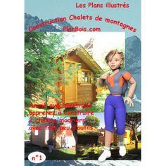 """Coffret n°1 Gertrude """"les chalets de montagnes madriers"""""""