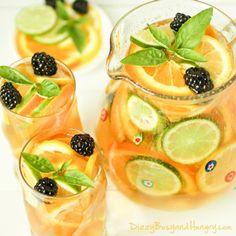 Sparkling Citrus Sangria Recipe - RecipeChart.com