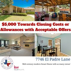 Get this mid-century modern Smart Home in North Dallas for a steal!!!  Check out our open house Saturday, September 10, 2016 from 1-3pm