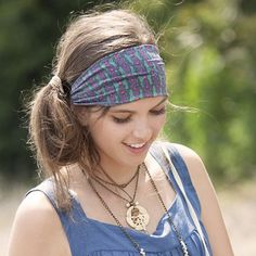 Indie Print Headbands