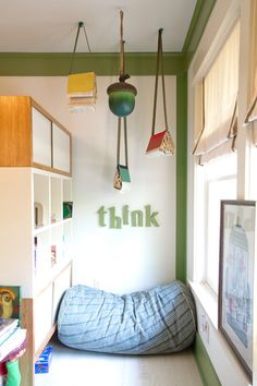 Book Nook - perfect for playroom or older kids' room Reading Nook Kids, Reading Fluency, Kindergarten Reading, Preschool Kindergarten, Reading Strategies, Reading Books, Woodland Bedroom, Woodland Theme, Ideas Habitaciones