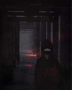 Hate Chan, Aoi Ogata on ArtStation at https://www.artstation.com/artwork/4vVnn