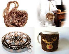 Brown Collection by Andrey on Etsy--Pinned with TreasuryPin.com