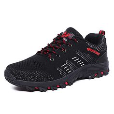 Costbuys Men Appearance Outdoor Sports Hiking Shoes,Classic Breathable Biking Footwear, Plus Size Accidental Sneakers, Bedrock Aggressive Shoe Accidental Hiking Sneakers, New Sneakers, Hiking Shoes, Sneakers Fashion, Fashion Flats, Men Fashion, Best Hiking Boots, Hiking Boots Women, Men Hiking
