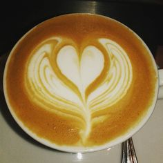 All you need is love!  #cafe #coffee #caffeine #cappuccino #latte #coffeeart #lattert #heart #freepour #coffeegeek #coffeelover #barista #1_cafe #cafe_store by dan.pajor
