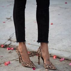 How to Chic: LEOPARD PUMPS
