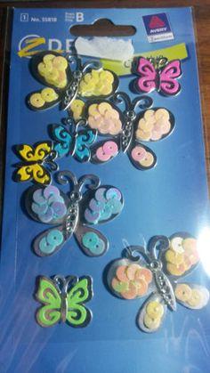 Etichette per decorare Zdesign Creative No. 55818 Farfalle