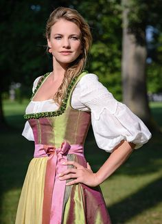 Classic and elegant dirndl by Gössl, Austria