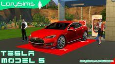 Tesla Model S at LorySims • Sims 4 Updates