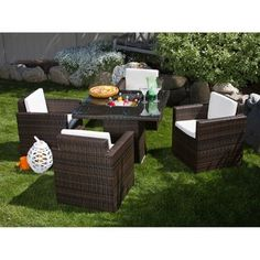 @Overstock - Give your patio or backyard fun flair and dining comfort with this Miami Beach five-piece set. This dining set includes a table and four arm chairs, all made with weather-resistant materials.http://www.overstock.com/Home-Garden/Miami-Beach-5-piece-Dining-Set/5749936/product.html?CID=214117 $679.99
