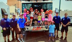 #kidtastic event - Kid Super Heros supporting real life Fire Fighters. Thanks to the Mesa Fire Dept for coming out.
