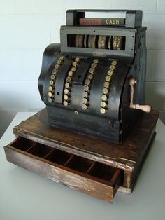 Vintage Cash Register by ThriftFabulousFinds on Etsy, $200.00