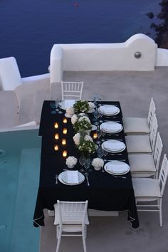 Your wedding reception at the luxurious resort Kirini Spa and Suites! A member of Relais & Châteaux in Oia Santorini.   http://www.stellaandmoscha.com/signature-