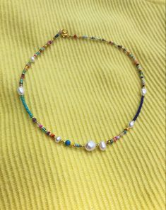 Gold Coin Necklace, Beaded Choker Necklace, Cute Necklace, Necklace Price, Seed Bead Necklace, Seed Bead Jewelry, Cute Jewelry, Seed Beads, Beaded Jewelry