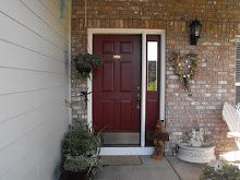 our front door painted sun dried tomato sherwin williams part of Coastal exterior paint collection.if I don't use a wooden door Coastal Farmhouse, Coastal Cottage, Coastal Homes, Coastal Decor, Coastal Rugs, Lake Cottage, Modern Coastal, Coastal Furniture, Coastal Style