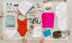 Summer essentials / Garance Doré Super big thank you Garance for featuring our pajamas! xx