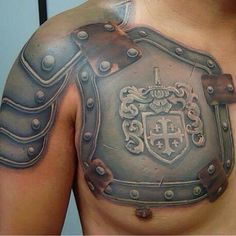 post of the day - Armor/family crest piece by . Body Art Tattoos, New Tattoos, Tattoos For Guys, Cool Tattoos, Maori Tattoos, Warrior Tattoos, Polynesian Tattoos, Viking Tattoos, Maori Tattoo Designs