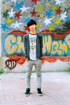 Huang Aimi    Me, Young, in Colour. Dalian, China. nickkozak.com