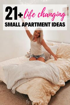 My small apartment is about to be taken to the nest level. This post made me realize how much wasted space I have in my apartment that I'm not utilizing! Moving House Tips, Moving Tips, Moving Hacks, First Apartment Checklist, First Apartment Essentials, First Apartment Decorating, Apartment Ideas, Ikea, Small Apartments