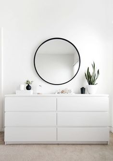 3 Eye-Opening Useful Tips: Minimalist Bedroom Apartment Therapy minimalist home exterior bedrooms.Minimalist Home Bedroom Floors room minimalist bedroom woods.Minimalist Home Kitchen Cabinets. Home Bedroom, Organization Bedroom, Bedroom Design, Room Inspiration, Apartment Decor, Minimalist Bedroom, Ikea Malm Dresser, Minimalist Home Decor, Ikea Bedroom
