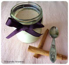 Silbando Aromas: Yogur de pera y canela