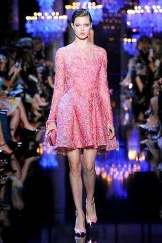 Photos du défilé Elie Saab Haute Couture automne-hiver 2014-2015 - L'Express