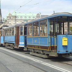 Djurgårdslinjen - tram in Stockholm Gothenburg, Stockholm Sweden, Old Town, Culture, World, Photography, Travel, Beautiful, Poster