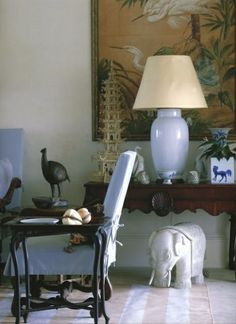 Chinoiserie Chic: Trending - The Big Chinoiserie Lamp