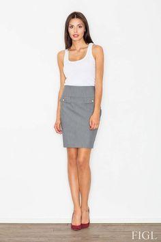 Grey Figl Skirts