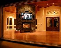 Fireplace Ideas with Television Above - Bing Images
