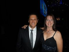 Larry Emdur & Sharon at National HIA Awards Brisbane 2013