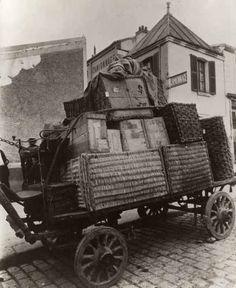 """Eugène Atget / """"Camionnage"""", Paris, ca. 1910"""