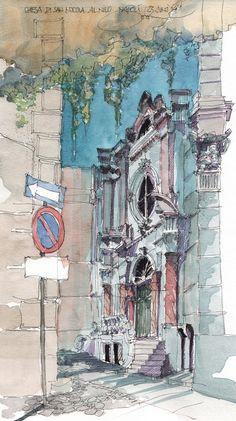 Neapel, Chiesa di San Nicola al Nilo, I   by JochenSchittkowski