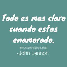#frases de amor John Lennon #frases celebres