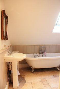 Ensuite #bathroom at Gardeners #Cottage #Blakeney